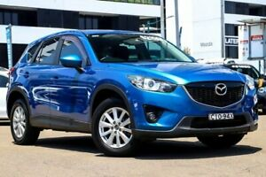 2012 Mazda CX-5 KE1021 Maxx SKYACTIV-Drive AWD Sport Blue 6 Speed Sports Automatic Wagon Liverpool Liverpool Area Preview