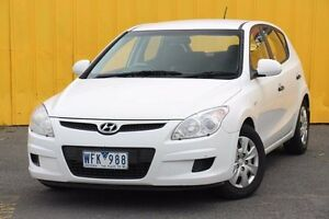 2008 Hyundai i30 FD SX White 4 Speed Automatic Hatchback Heatherton Kingston Area Preview