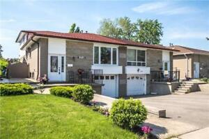 Updated, Bright & Spacious Townhouse In Heart Of Brampton