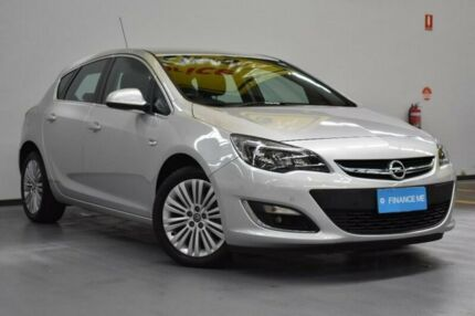 2012 Opel Astra AS Silver 6 Speed Sports Automatic Hatchback