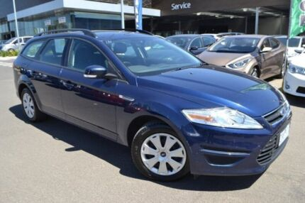 2012 Ford Mondeo MC LX Blue 6 Speed Sports Automatic Wagon Hoppers Crossing Wyndham Area Preview
