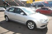 2008 Ford Focus LT LX Silver 4 Speed Sports Automatic Hatchback Kingsville Maribyrnong Area Preview