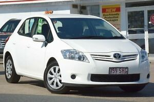 2012 Toyota Corolla ZRE152R MY11 Ascent Glacier 4 Speed Automatic Hatchback Woolloongabba Brisbane South West Preview