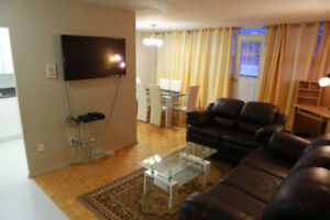 FURNISHED AND PRIVATE APARTMENT NEAR EATON CENTER, SHORT TERM