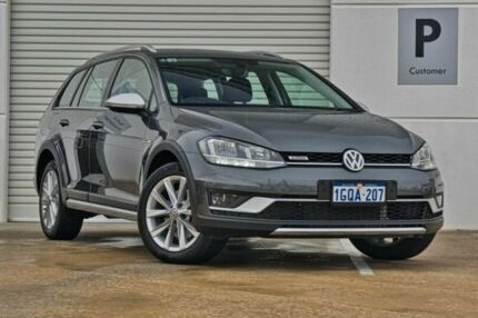 2018 Volkswagen Golf 7.5 MY18 Alltrack DSG 4MOTION 132TSI Grey 6 Speed Sports Automatic Dual Clutch Mandurah Mandurah Area Preview
