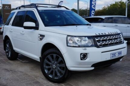 2013 Land Rover Freelander 2 LF MY13 SD4 HSE White 6 Speed Sports Automatic Wagon