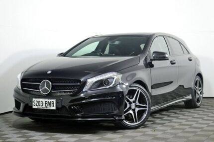 2014 Mercedes-Benz A200 CDI W176 D-CT Black 7 Speed Sports Automatic Dual Clutch Hatchback Edwardstown Marion Area Preview