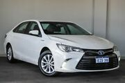 2015 Toyota Camry AVV50R Hybrid H White 1 Speed Constant Variable Sedan Hybrid Bayswater Bayswater Area Preview