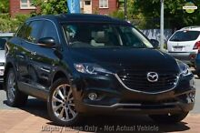 2015 Mazda CX-9 TB10A5 MY14 Grand Touring Activematic AWD Black 6 Speed Sports Automatic Wagon Mount Gambier Grant Area Preview