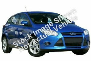 2012 Ford Focus LW MkII Trend PwrShift Panther Black 6 Speed Sports Automatic Dual Clutch Hatchback