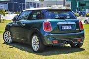 2016 Mini Hatch F56 Cooper S Green 6 Speed Manual Hatchback Burswood Victoria Park Area Preview