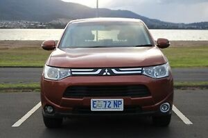 2013 Mitsubishi Outlander ZJ MY13 LS 4WD Bronze 6 Speed Constant Variable Wagon Invermay Launceston Area Preview