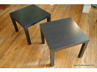 IKEA Lack tables (2) - Black