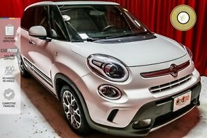2014 FIAT 500L NAVIGATION! BLUETOOTH! BEAUTIFUL LEATHER ACCENTS!