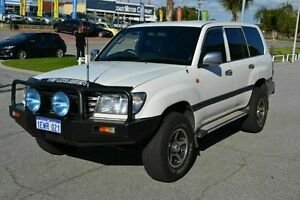2004 Toyota Landcruiser 100 Series GXL White 5 Speed Manual Wagon East Rockingham Rockingham Area Preview