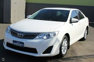 2013 Toyota Camry ASV50R Altise White 6 Speed Sports Automatic Sedan West Footscray Maribyrnong Area Preview