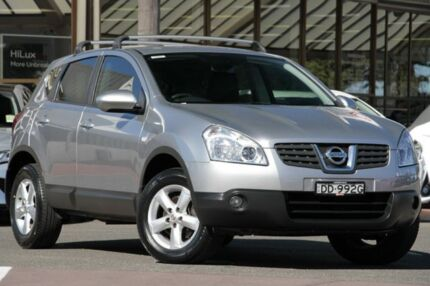 2009 Nissan Dualis J10 MY2009 Ti Hatch X-tronic Silver 6 Speed Constant Variable Hatchback Christies Beach Morphett Vale Area Preview