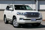 2017 Toyota Landcruiser SAHARA VDJ200R White Sports Automatic Wagon Cannington Canning Area Preview