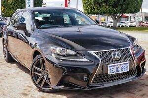 2013 Lexus IS350 GSE31R F Sport Black 8 Speed Sports Automatic Sedan Embleton Bayswater Area Preview