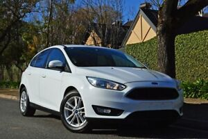 2016 Ford Focus LZ Trend White 6 Speed Manual Hatchback Medindie Walkerville Area Preview