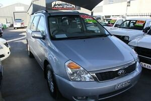 2011 Kia Grand Carnival VQ MY11 SI Silver 6 Speed Automatic Wagon Mitchell Gungahlin Area Preview