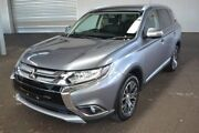 2016 Mitsubishi Outlander ZK MY16 LS 4WD Grey 6 Speed Constant Variable Wagon Hoppers Crossing Wyndham Area Preview