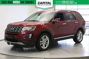 2016 Ford Explorer Limited 4WD Power Priced !