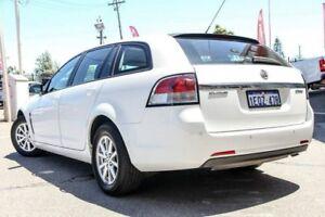 2014 Holden Commodore VF MY14 Evoke Sportwagon White 6 Speed Sports Automatic Wagon