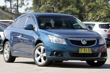2012 Holden Cruze JH MY12 Equipe Blue 6 Speed Automatic Hatchback Greenacre Bankstown Area Preview
