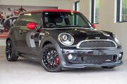 2013 Mini Hatch R56 LCI John Cooper Works Black 6 Speed Manual Hatchback Willagee Melville Area Preview