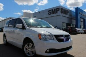 2016 Dodge Grand Caravan V6, HEATED LEATHER, B UP CAM, ALLOYS, S