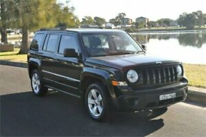 2011 Jeep Patriot MK MY09 Sport Black 6 Speed CVT Auto Sequential Wagon Five Dock Canada Bay Area Preview