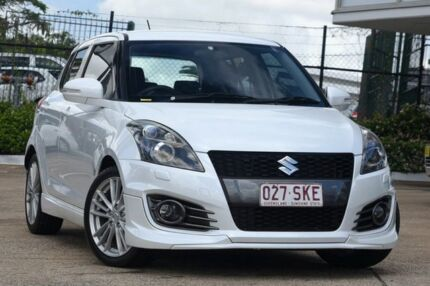 2012 Suzuki Swift FZ Sport White 6 Speed Manual Hatchback Jamboree Heights Brisbane South West Preview