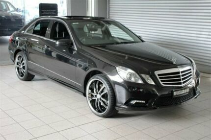 2009 Mercedes-Benz E500 212 Avantgarde Black 7 Speed Automatic G-Tronic Sedan Thornleigh Hornsby Area Preview