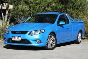2011 Ford Falcon FG XR6 Ute Super Cab Turbo Blue 6 Speed Manual Utility