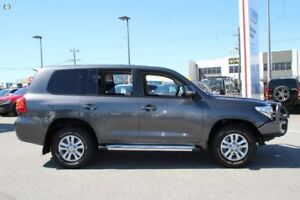 2014 Toyota Landcruiser Grey Sports Automatic Wagon