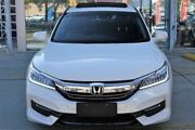 2017 Honda Accord 9th Gen MY17 VTi-L White 5 Speed Sports Automatic Sedan Belconnen Belconnen Area Preview
