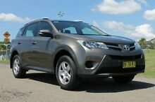 2013 Toyota RAV4 ASA44R GX (4x4) Bronze 6 Speed Automatic Wagon South Maitland Maitland Area Preview