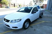 2008 Ford Falcon FG Super Cab White 5 Speed Automatic Cab Chassis Cheltenham Kingston Area Preview