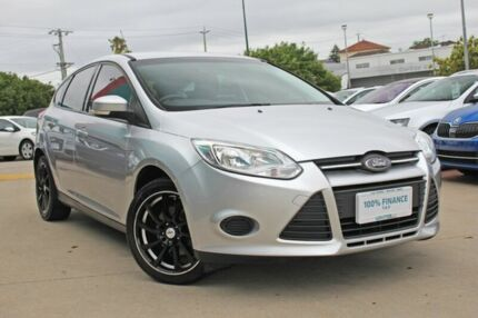 2013 Ford Focus LW MK2 Ambiente Silver 5 Speed Manual Hatchback Victoria Park Victoria Park Area Preview