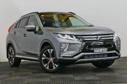 2017 Mitsubishi Eclipse Cross YA MY18 Exceed AWD Grey 8 Speed Constant Variable Wagon Seven Hills Blacktown Area Preview