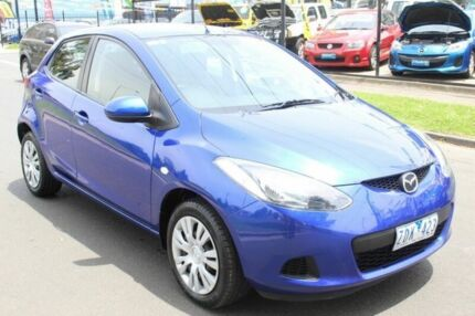 2010 Mazda 2 DE Neo Blue 4 Speed Automatic Hatchback West Footscray Maribyrnong Area Preview