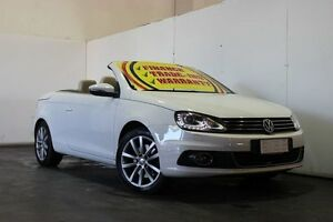 2011 Volkswagen EOS 1F MY12 103 TDI White 6 Speed Direct Shift Convertible Underwood Logan Area Preview