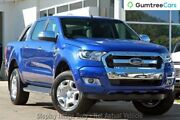 2017 Ford Ranger PX MkII XLT Double Cab Blue 6 Speed Sports Automatic Utility Wangara Wanneroo Area Preview