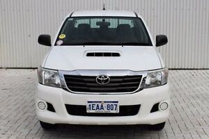 2012 Toyota Hilux White Manual Utility Embleton Bayswater Area Preview
