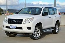2010 Toyota Landcruiser Prado KDJ150R GX White 5 Speed Sports Automatic Wagon Midland Swan Area Preview