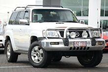 2005 Nissan Patrol GU IV MY05 ST-S White 4 Speed Automatic Wagon Moorooka Brisbane South West Preview