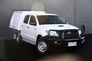 2010 Toyota Hilux White Automatic Utility Cranbourne Casey Area Preview
