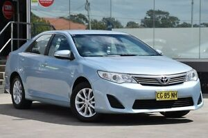 2012 Toyota Camry ASV50R Altise Light Blue 6 Speed Automatic Sedan Old Guildford Fairfield Area Preview