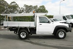 2012 Nissan Patrol GU 6 Series II DX Polar White 5 Speed Manual Cab Chassis Acacia Ridge Brisbane South West Preview
